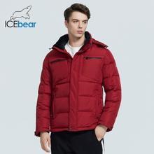 ICEbear 2020 invierno nuevo casual y de moda de los hombres de algodón acolchado chaqueta caliente y resistente al viento de los hombres ropa de marca MWD20940D