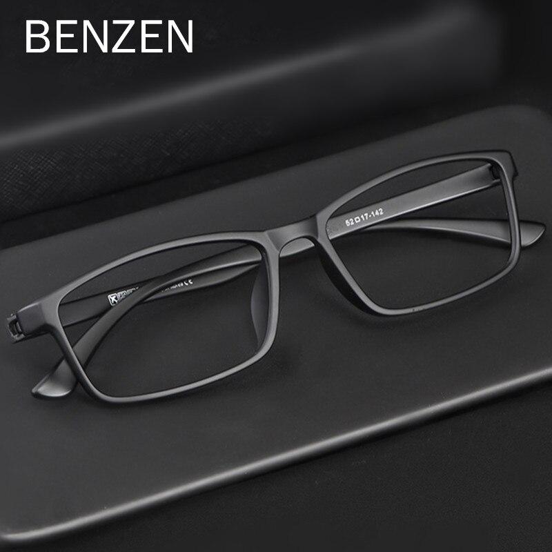 BENZEN Quality Glasses Frame Men Women Ultralight  Optical Eye Glasses Frame Square Prescription Eyeglasses  5196