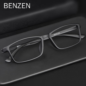 Image 1 - BENZEN באיכות משקפיים מסגרת גברים נשים Ultralight משקפיים אופטיים מסגרת כיכר מרשם משקפיים 5196