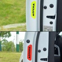 4pcs car door safety warning reflective sticker for Kia Rio 3 4 K2 K3 K5 K4 Cerato,Soul,Forte,Sportage R,SORENTO,Mohave,OPTIMA