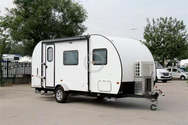 Professional Manufacture Family Trip Camper Trailer Outdoor Trailer For 2-3 Person