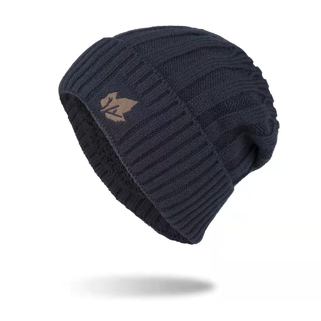 Womens Winter Warm Real Fur Pom Pom Elasticity Crochet Ski Beanie Cap Hat A382