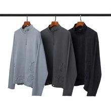 100% algodão masculino hoodies moletom com capuz retro q03301
