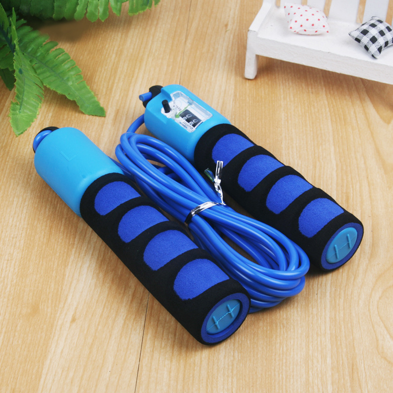 Children Game Jump Rope Regulation Exam Count Only Lanyard-Young STUDENT'S Kids Rubber Sponge Jump Rope