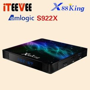 Image 3 - X88 King Android 9.0 Tv Box S922X Hexa Core Mali G52 MP6 LPDDR4 4Gb 128Gb Set Top Box dual Wifi Bluetooth 5.0 1000M Lan Speler