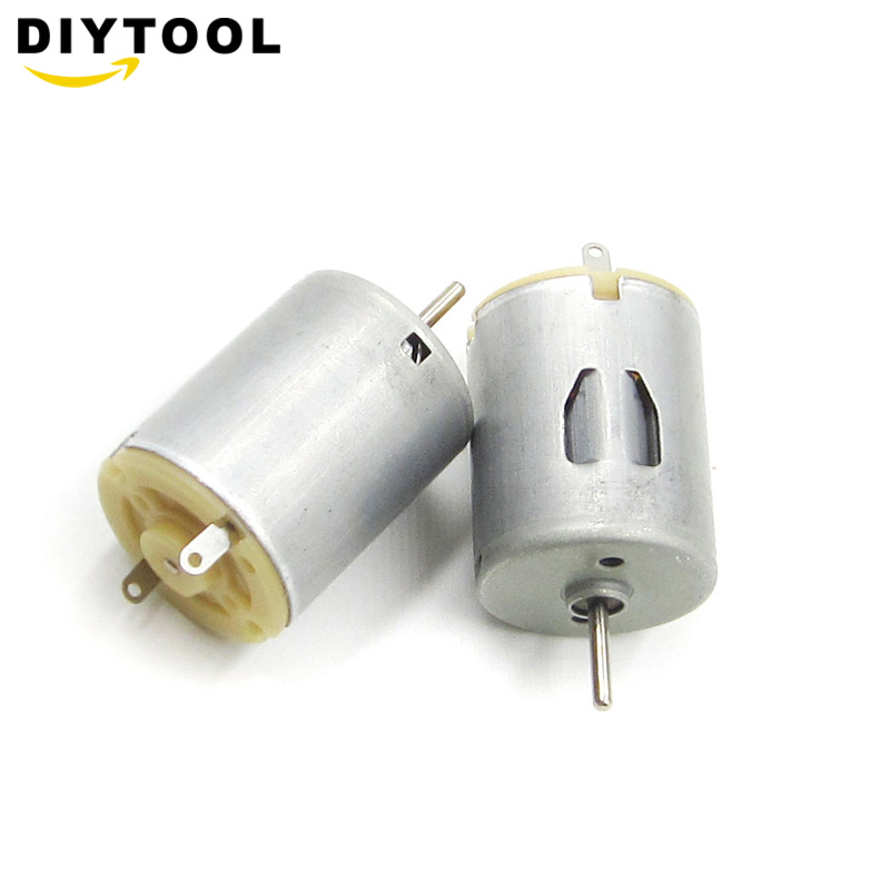 1pc Mini 280 DC Motor High Speed Strong Magnetic Toy Car DIY Motors DC 3-12V 5000-15000RPM Electric Machinery Tool