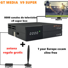 2020 GTmedia V9 Super Satellite TV Receiver FREE Antenna 800