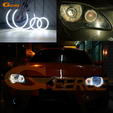 цена на For Proton Gen-2 Gen2 2004-2013 Excellent Angel Eyes Ultrabright illumination smd led Angel Eyes Halo Ring kit