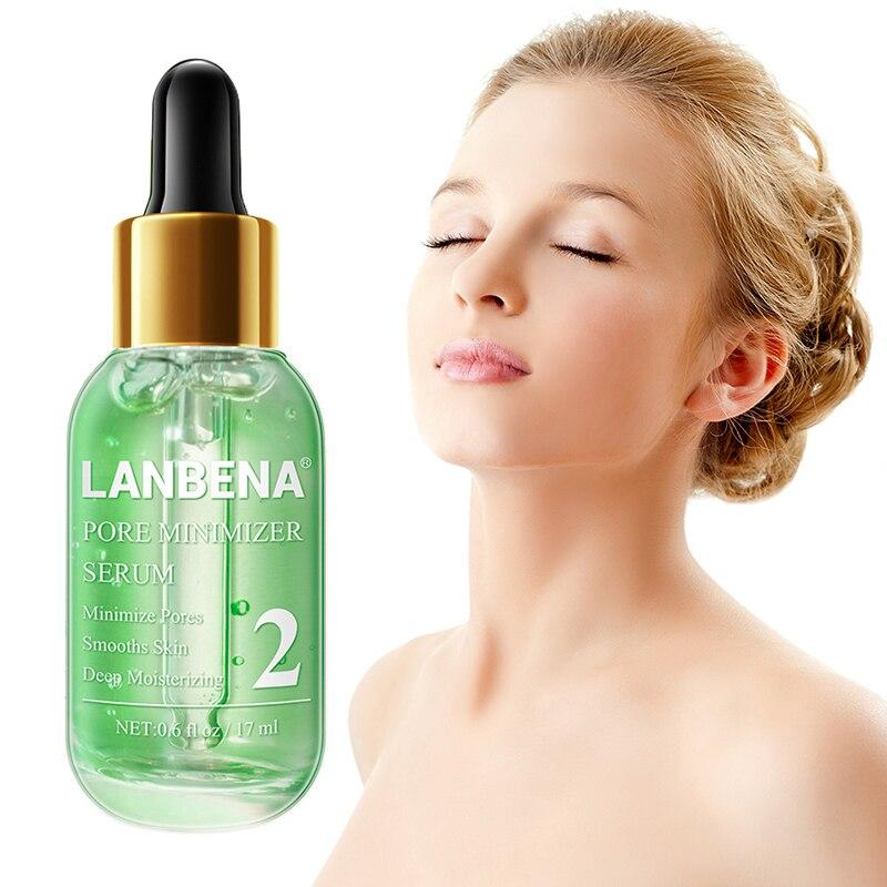 LANBENA Pore Minimizer Serum Removing Blackheads Nose Shrinking Pores Peeling Acne Treatment Refining Essence TSLM1