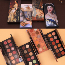 HOJO 12 Color Aristocratic Painting Eye Shadow Palette Glitter Shimmer Matte Eyeshadow Waterproof Pigmented Powder Beauty Makeup все цены
