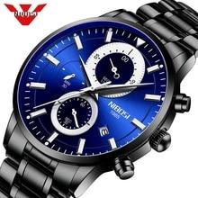 NIBOSI Relogio Masculino 2020 Top Brand Watches