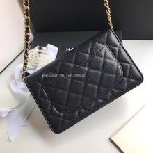 luxury brand woc plain caviar bag classic crossbody handbags