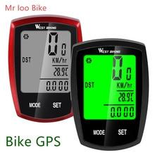 цена на bike computer bicycle wireless speedometer wired stopwatch mtb road waterproof water led backlight bicycle computer gps bike