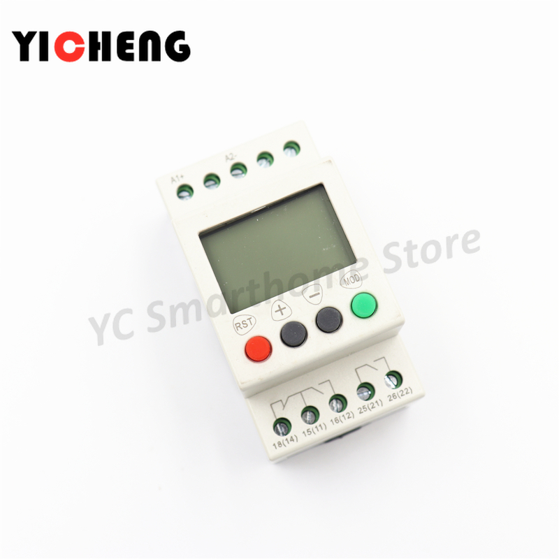 Phase Monitoring Relays Single Phase Voltage Protection Relay SVR1000 3 Phase Relay Relay Control D12
