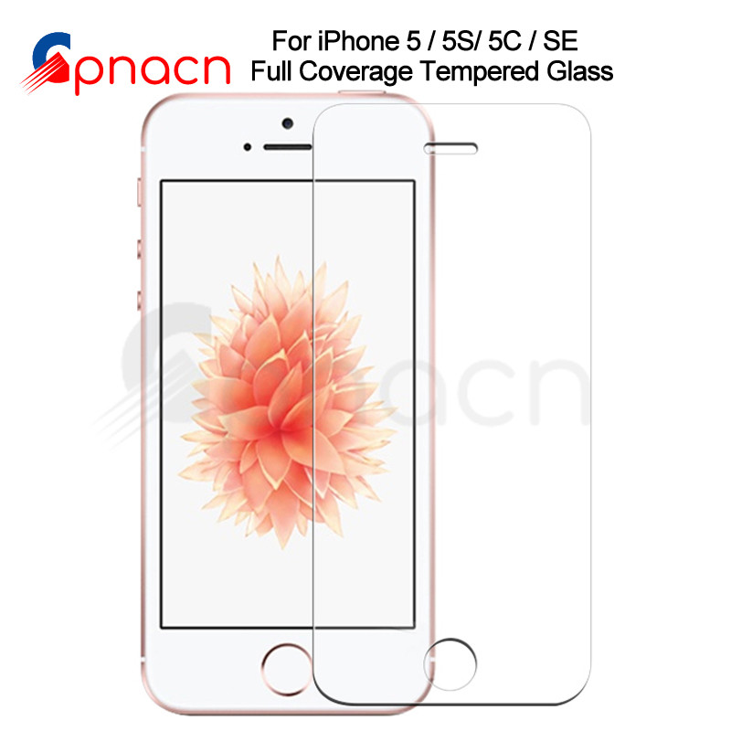 Tempered <font><b>Glass</b></font> on The For Apple <font><b>iPhone</b></font> <font><b>5S</b></font> 5 SE 5C <font><b>Screen</b></font> <font><b>Protector</b></font> 9H Anti-Burst Protective Film <font><b>Glass</b></font> For <font><b>iPhone</b></font> <font><b>5S</b></font> SE 4 4S 5 image