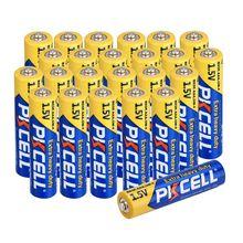 50 adet PKCELL R03P AAA birincil pil karbon çinko pil aaa 1.5V eşit UM4 MN2400 LR03 SUM4 LR3 için kamera radyo oyuncaklar