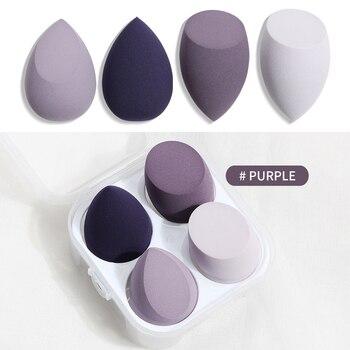 Makeup Sponge Professional Cosmetic Puff Multiple sizes For Foundation Concealer Cream Make Up Soft 2-8pcs Sponge Puff Wholesale 11