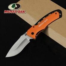 MOSSY OAK Folding Pocket Knife Camping Knife Blade Plastic Handle Fruit Cutter Outdoor Survival Knives Multi Tool