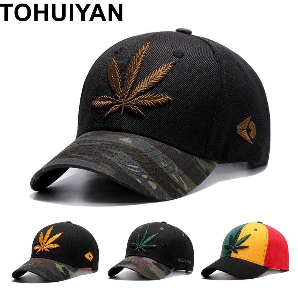TOHUIYAN New Embroidery   Baseball     Cap   For Men 2019 Gorras Snapback Hat Women Casual   Cap   Unisex Camouflage Casquette Hip Hop   Caps