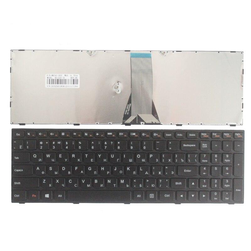 New Russian Keyboard For LENOVO E50-70 E50-80 B51 B51-30 B51-35 B51-80 B71 G51 Flex 2-15 RU Laptop Keyboard