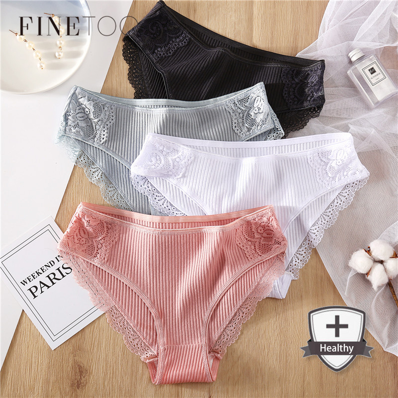 M-2XL Cotton Panties Women Comfortable Underwears Sexy Low-Rise Underpants Female Lingerie Big Size Ladies Briefs Dropshipping