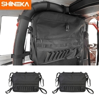 SHINEKA Stowing Tidying for Jeep Wrangler JL 2 Door Trunk Storage Cargo Bag Organizers Multi Pockets Tool Anti Roll Storage Bag