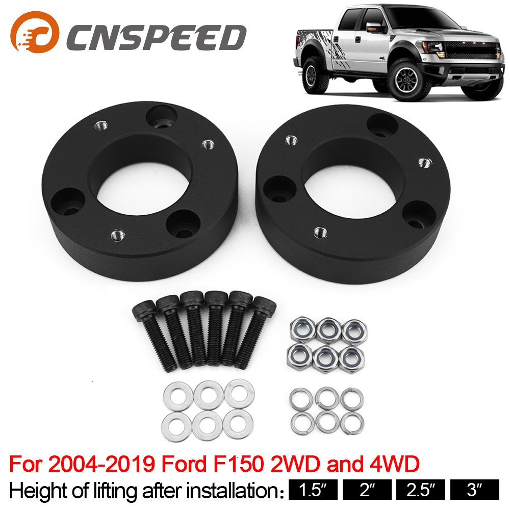 "Front Leveling Lift Kit For 2004-2019 Ford F150 2WD And 4WD 2PCS Lift 1.5""/ 2/2.5/3 image"