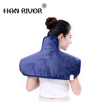 """HANRIVER """"Sea salt hot packs electric heating cervical hot compress shawl physiotherapy massage comfortable home """""""