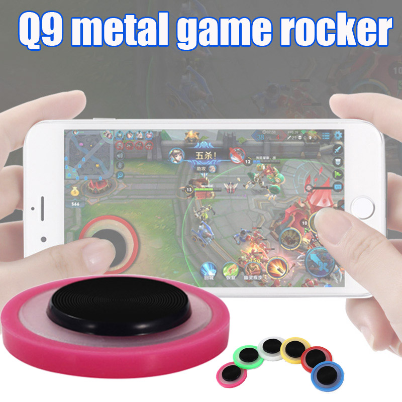 New Round Game Joystick Touching Screen Controller Anti-slip For Mobile Phone Tablet DOM668