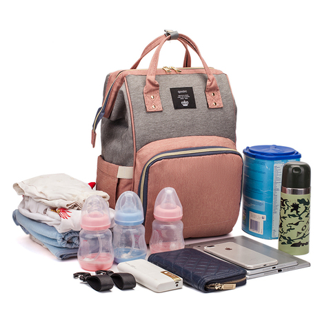 Diaper Bag Backpack Multifunction Travel Back Pack Maternity Baby Nappy Changing Bags Large Capacity Waterproof and Stylish Karachi