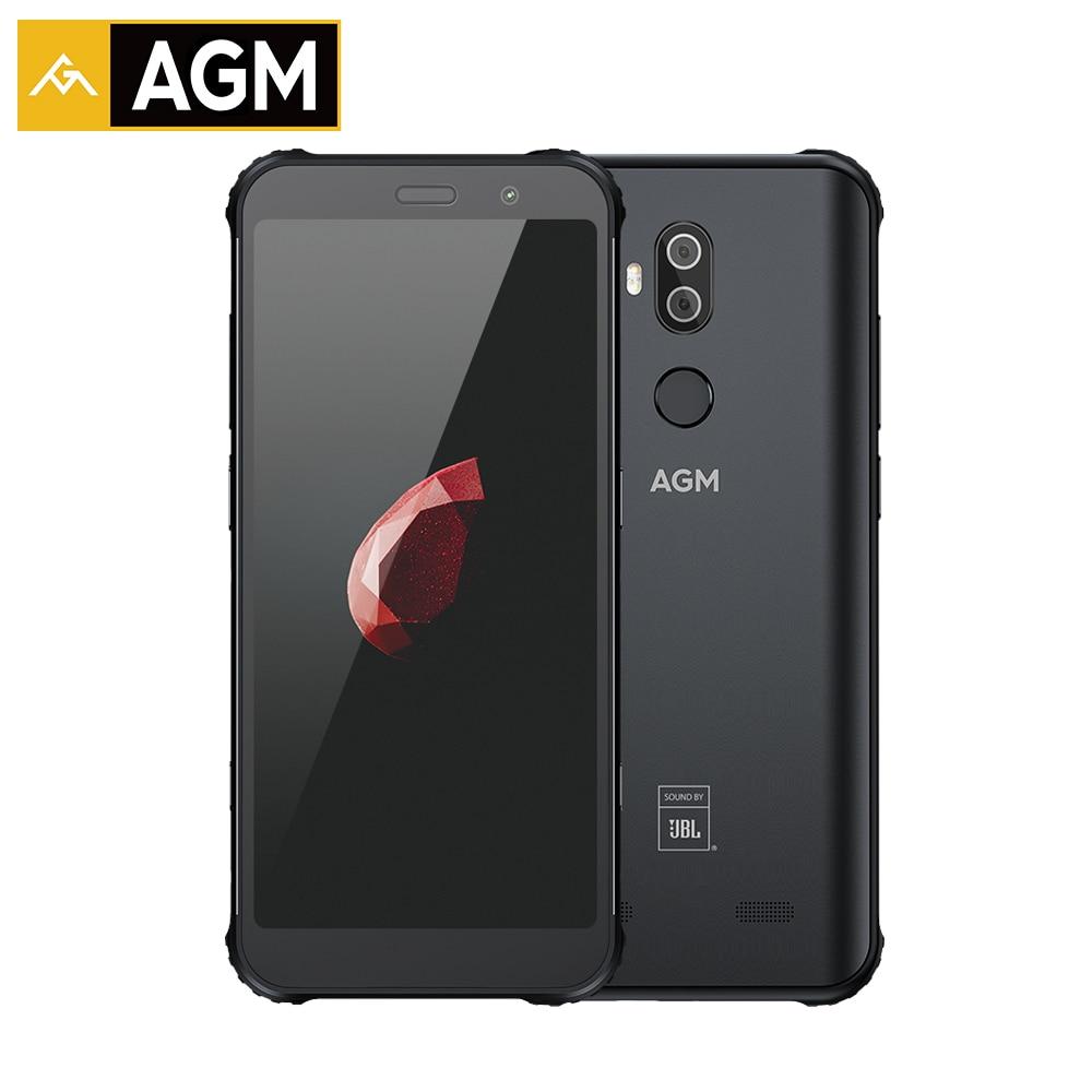 "AGM X3 6 ГБ 64 Гб IP68 Android 8,1 Snapdragon 845 5,99 ""задняя 12 Мп + 24 МП Передняя 20 Мп камера отпечаток пальца NFC водонепроницаемый смартфон"