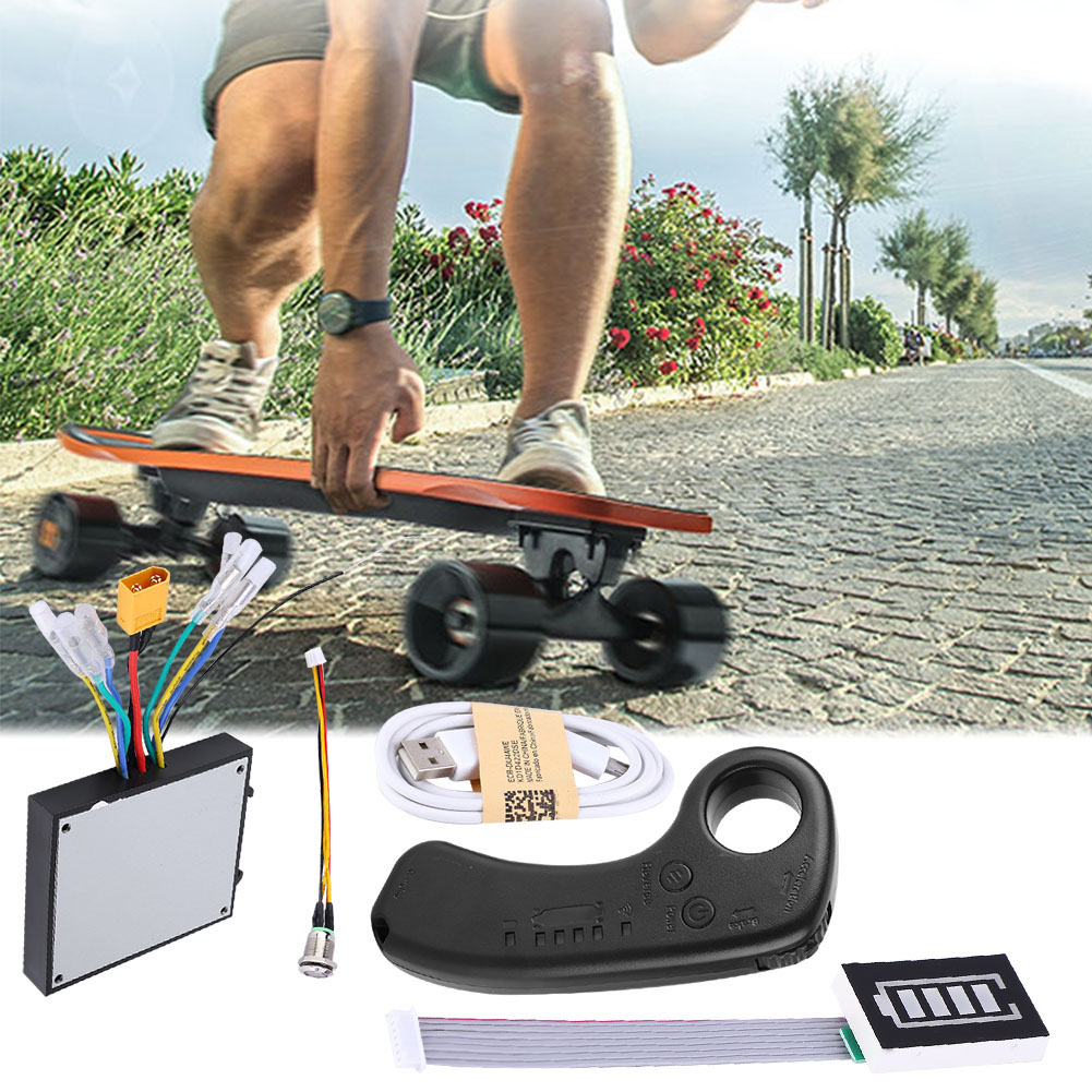 New Mini Remote Controller Built-in Lithium Battery With Receiver For Electric Skateboard Longboard With Remote Free Shipping