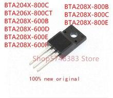 10 قطعة BTA204X 800C BTA206X 800CT BTA208X 600B BTA208X 600D BTA208X 600E BTA208X 600F BTA208X 800B BTA208X 800C BTA208X 800E
