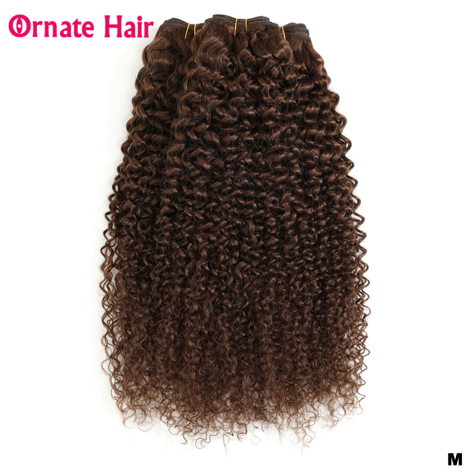 Brazilian <font><b>Hair</b></font> Weave Bundles Water Wave <font><b>Hair</b></font> Weave Pre-Colored Light Brown Non-Remy Human <font><b>Hair</b></font> Bundles 1/3/4 PC/Lot Middle Ratio image