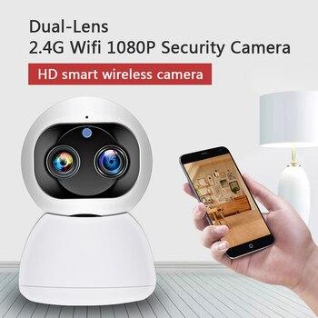 MOOL 1080P HD Wireless WIFI IP CCTV Camera Smart Home Security Night Vision Indoor EU Plug