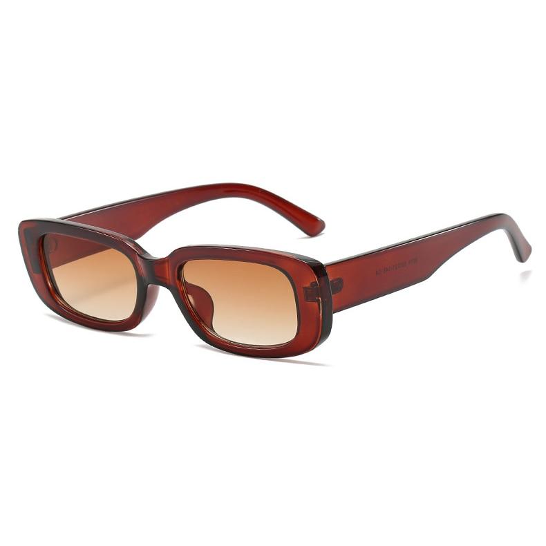 2020 Rectangle Women Sunglasses Retro Fashion Brand Designer Sunglasses UV400