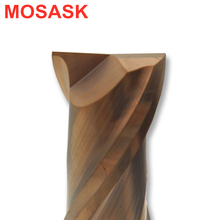 MOSASK 1 Pcs 2 Flutes HRC50 3mm 2mm 4mm 6mm Straight Shank CNC Milling Cutters Groove Carbide Cutting Steel End Mill цены