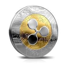 Coins Collectibles Bitcoin Ethereum/Litecoin/Dash/Ripple Coin 5 kinds of Commemorative Drop Shipping Non-currency