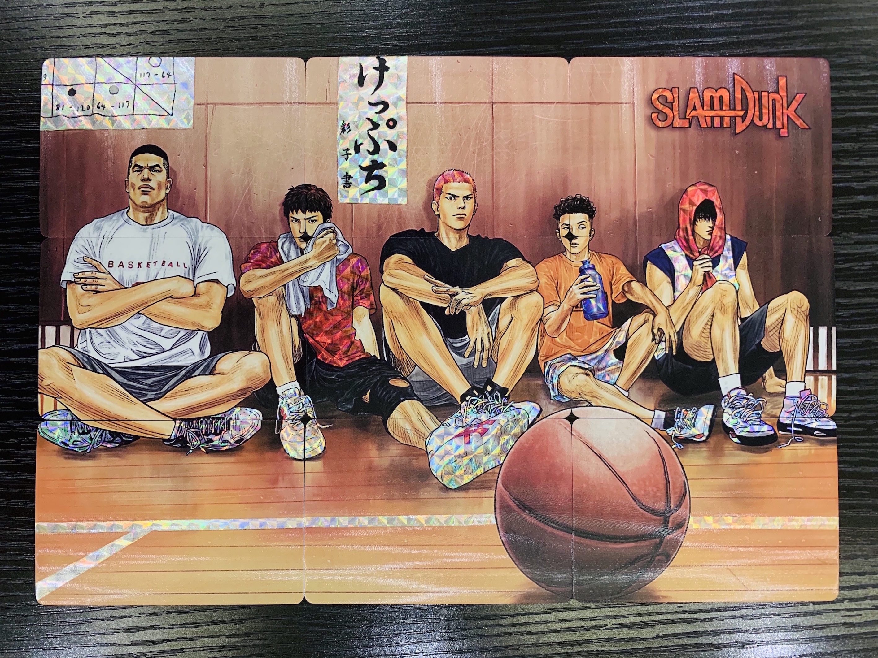 10pcs/set SLAM DUNK 9 In 1Toys Hobbies Hobby Collectibles Game Collection Anime Cards