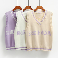 Vest Tank-Tops Women Shirt Sweater Female New Autumn And Fashion Spring Knitted V-Neck