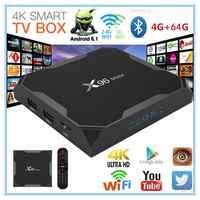 X96 Max Smart TV BOX Android 9.0 Amlogic S905X2 Quad Core 4GB 64GB 2,4G & 5GHz Wifi BT 1000M 4K IPTV Set top box PK HK1 PLUS H96