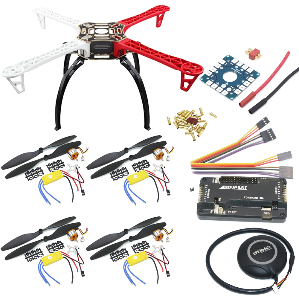 F450 Quadcopter Rack Kit Frame APM2.8 and 7M GPS XXD A2212 1000KV & 30A & 1045 Props For Rc Quadcopter image