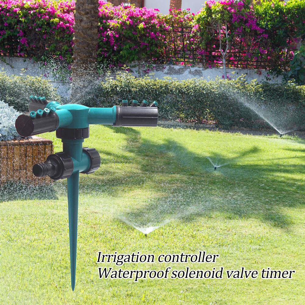 360 Degree Water Sprinkler Spray Head Nozzle Lawn Garden Watering Planting Tool Garden Sprinkler Lawn Irrigation Drip