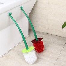 Творческий Прекрасный вишня форма Туалет Щетка для унитаза и держатель набор(красный
