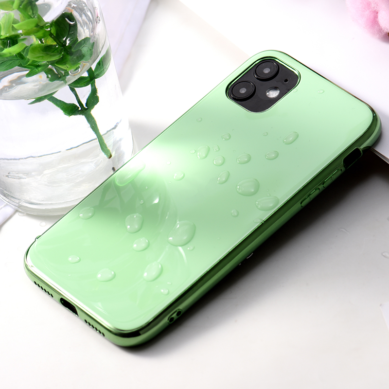 soft shell TPU Case Plating Cover For iPhone11 XS Max iPhone X Phone Case Luxury Hard Coque With Logo For phone 11 case 4