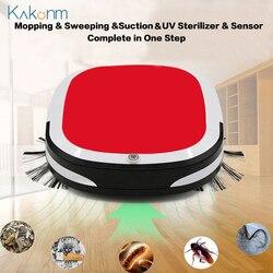 Robot aspirador inteligente recargable caliente 3200PA trapeador de succión de barrido máquina limpiadora de polvo automática inalámbrica para la limpieza del hogar