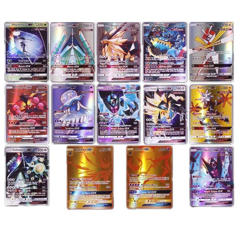 TAKARA TOMY cartes jeu pas de répétition cartes Pokemon avec 60VMAX 200 Gx 100 Tag équipe 20 MEGA 20 EX100 bataille Carte Trading toys