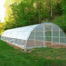 15m transparente vegetal estufa cultivo agrícola filme de cobertura de plástico impermeável jardinagem anti-uv proteger as plantas