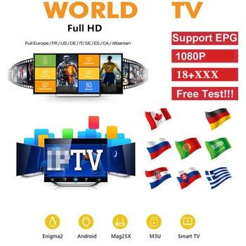OTT Plus Xxx IP Europe Android TV Box Canada UK German Netherlands Belgium Smart IP Sweden Italy Arabic TV No App Included
