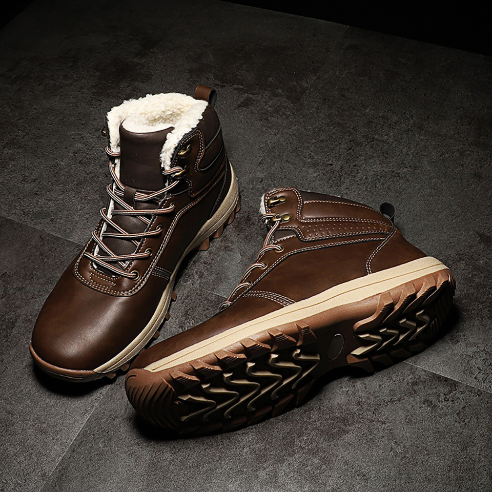 39-48 Snow Boots Comfortable Warm Non-Slip 2019 Winter Men Shoes #NXGW2276
